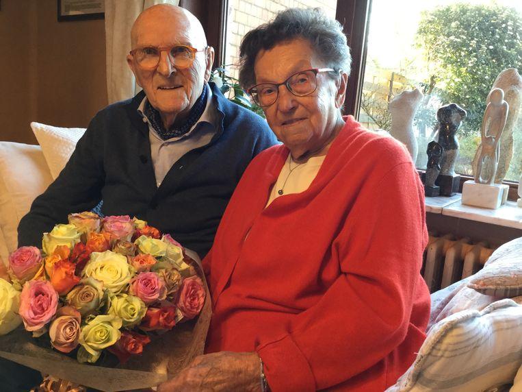 Paul en Mimine vieren dit weekend hun 75ste huwelijksverjaardag.