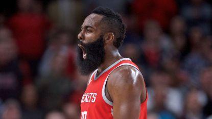 James Harden voor eerst verkozen tot MVP in NBA