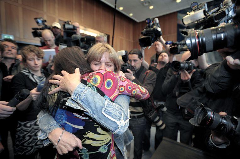 Lucia de B. werd vrijgesproken. Beeld Raymond Rutting / de Volkskrant
