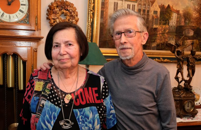 Maria De Kimpe en Willy Verhulsel vierden hun zestigste huwelijksverjaardag.