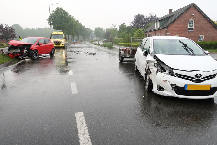Het ongeluk gebeurde op de N263.
