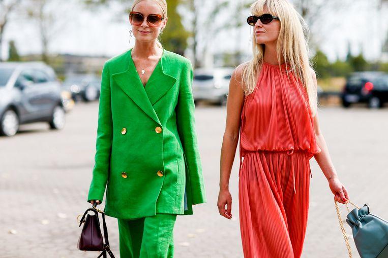 De Deense influencers Thora Valdimars enJeanette Friis Madsen.