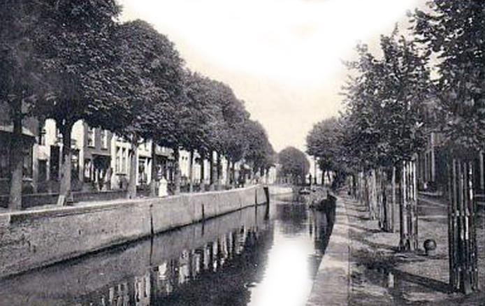 Oude haven Zevenbergen
