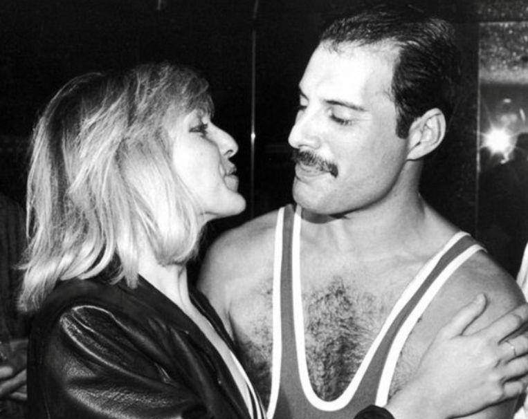 Mary Austin met Freddie Mercury.