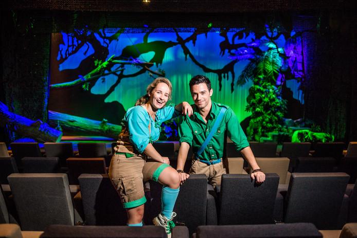 Zoë & Silos, de musicalsterren van Burgers' Zoo