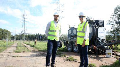 Hoogspanningslijn krijgt nieuwe elektriciteitsdraden: Arbeiders aan de slag op bijna zestig meter hoogte