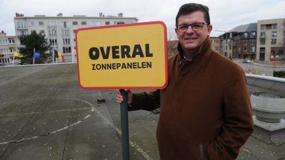 Campagne 'Stroomversneller' voorgesteld op dak CC Strombeek