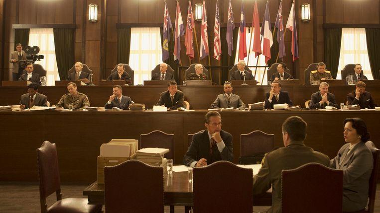 In de film Tokyo Trial reconstrueert regisseur Pieter Verhoeff het tribunaal waarbij Japanse machthebbers werden aangeklaagd voor oorlogsmisdaden voor en tijdens de Tweede Wereldoorlog. Beeld x