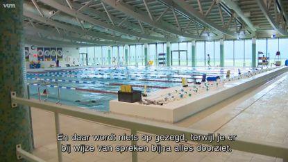 """""""Te blote"""" meisjes uit zwembad gezet in Brasschaat"""