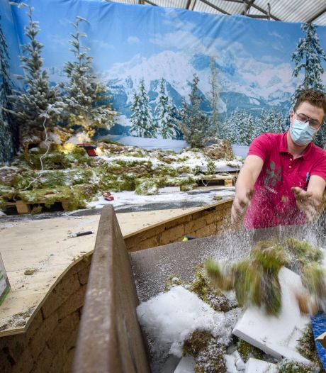 Kerst was in Intratuin Lochem voorbij voordat het kon beginnen: 'Afbouwen hoort erbij maar om dat al een week voor Kerst te moeten doen'