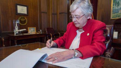 """Abortus-ban Alabama wekt woede: """"Verdrietige dag voor vrouwen in Amerika"""""""