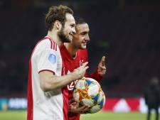 Hattrick voor Ziyech én Blind: 'Ik wilde die laatste bal echt niet voorgeven'