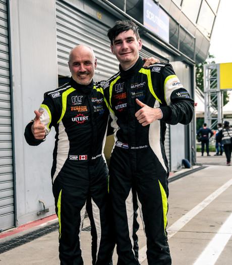 Van Uitert (19) uit Dongen pakt podiumplaats op Monza