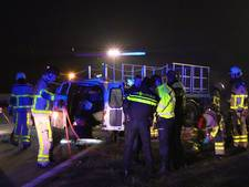 Ernstig ongeval op N315 in Haaksbergen, weg dicht