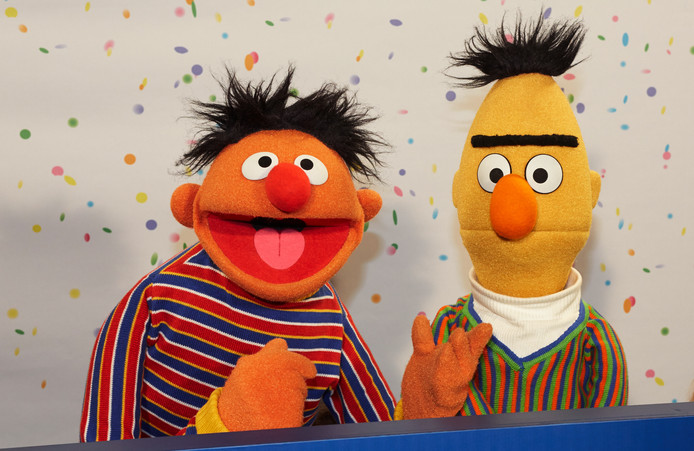 Ernie en Bert.