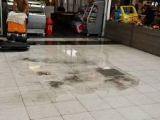 Forse hagelbui zorgt voor overlast in winkelcentrum Enschede