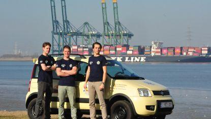 Oud-studenten Hogere Zeevaartschool trekken met Fiat Panda naar Mongolië voor goede doel