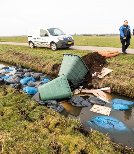 Explosieve stijging van dumpingen met drugsafval
