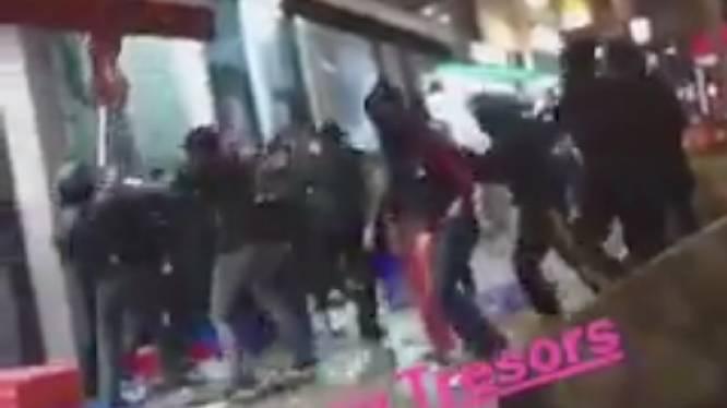 Twee jongerengroepen gaan op de vuist in de Brusselse Maurice Lemonnierlaan