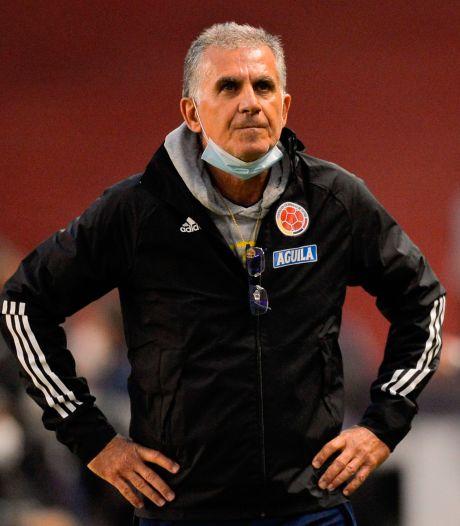 Colombiaanse voetbalbond ontslaat bondscoach Queiroz na slechte WK-kwalificatiereeks
