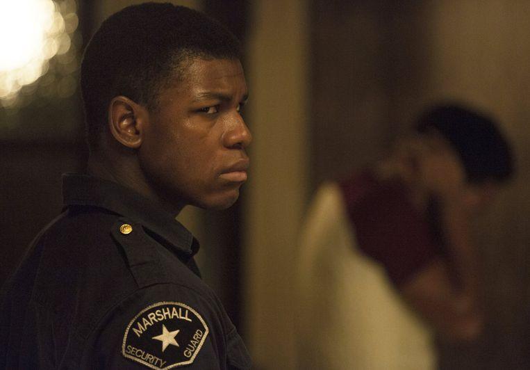 John Boyega in Detroit (Kathryn Bigelow, 2017). Beeld
