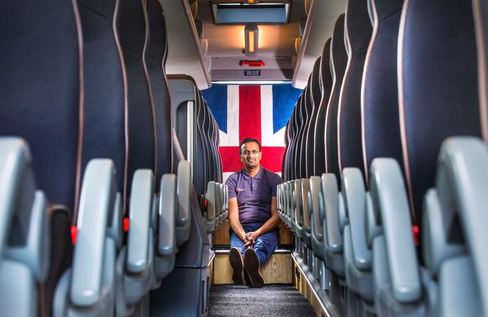 Touroperator Kris Jhagroe maakt zich niet zo heel druk over de brexit: ,,Een storm in een glas water.''