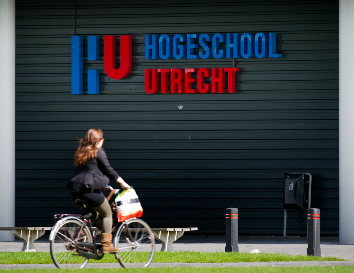 De Hogeschool Utrecht in de Uithof.