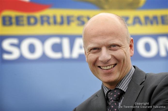 SWB-directeur Jeroen van der Geest