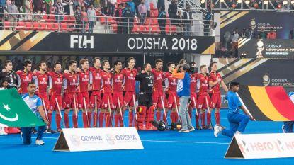 LIVE. Red Lions op achtervolgen aangewezen in WK-kwartfinale na dekkingsfout die afgestraft wordt door Duitsland