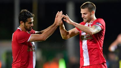 Antwerp rekent af met Lierse in tweede helft, KV Kortrijk met moeite voorbij amateurclub