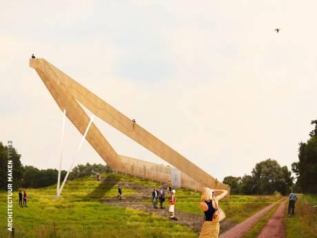 Uitkijktoren Moerenburg krijgt een betaalpoort, zoals toren in Spoorpark