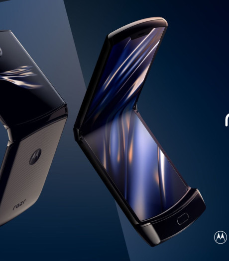 Klassieke Motorola-klaptelefoon maakt comeback met opvouwbaar scherm