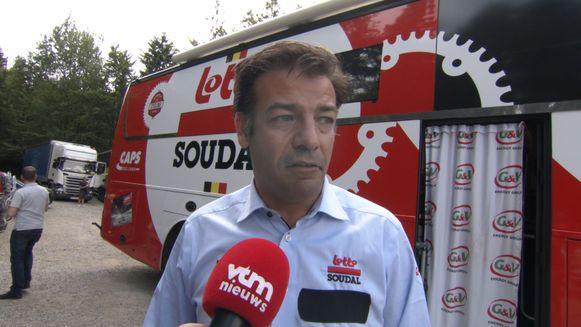 John Lelangue, algemeen manager bij Lotto-Soudal