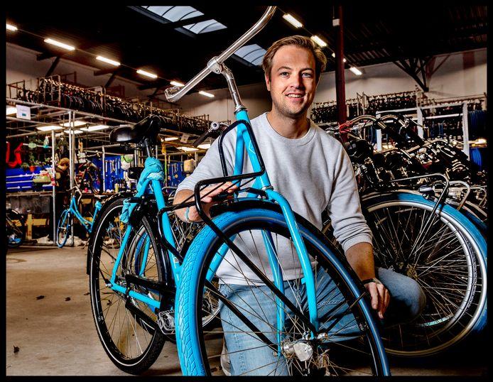 Steven Uitentuis is directeur van Swapfiets.
