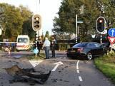 Ravage bij ongeluk in Zeeland: één auto belandt in weiland