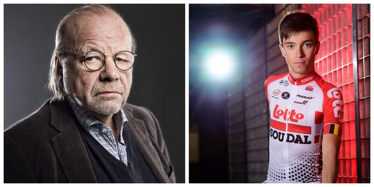 Hugo Camps en de betreurde Bjorg Lambrecht