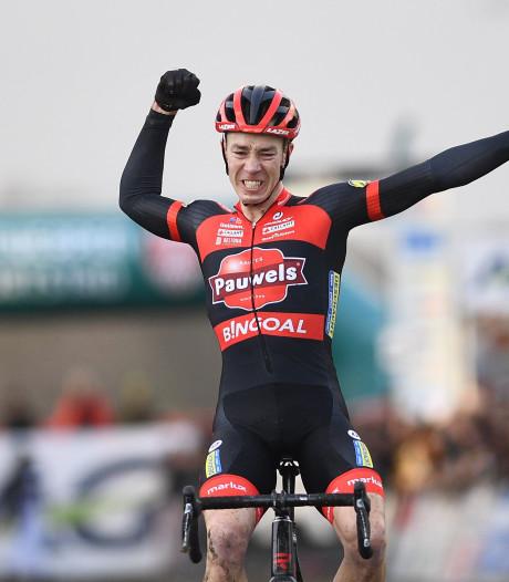 Laurens Sweeck devient champion de Belgique de cyclocross, à la surprise générale