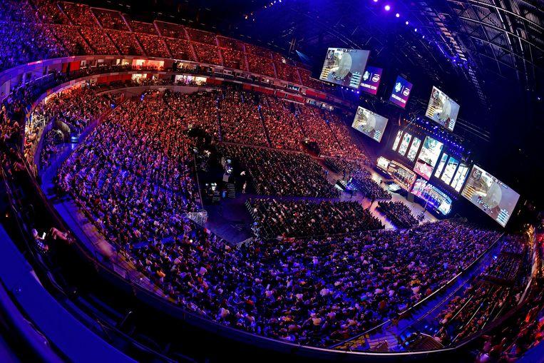 Eerder deze maand kwamen in Keulen zo'n 15.000 bezoekers kijken naar ESL One.