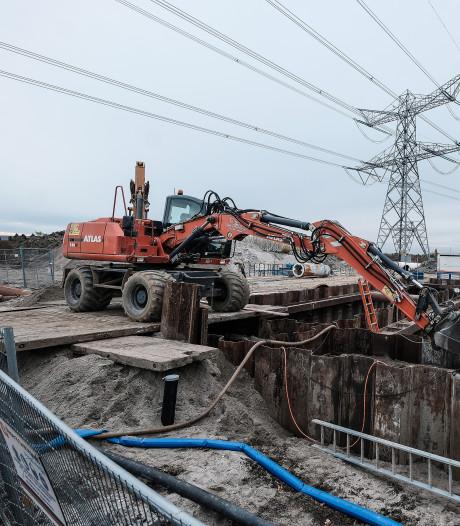 Onttrekken van grondwater voor A15: druppel voor hausse aan scheuren en verzakte woningen?