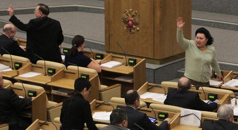 Start Verdrag Kan Na Goedkeuring Russisch Hogerhuis Van
