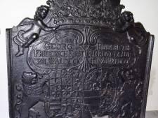 Aalten geeft deze eeuwenoude haardplaat terug aan Culemborg