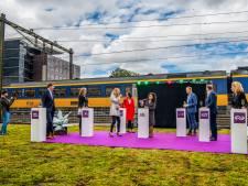 Station Rotterdam Alexander geopend en reizigers zijn enthousiast: 'Ik vind het tof geworden'