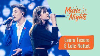 Volg de Music Night met Laura Tesoro & Loïc Nottet LIVE!