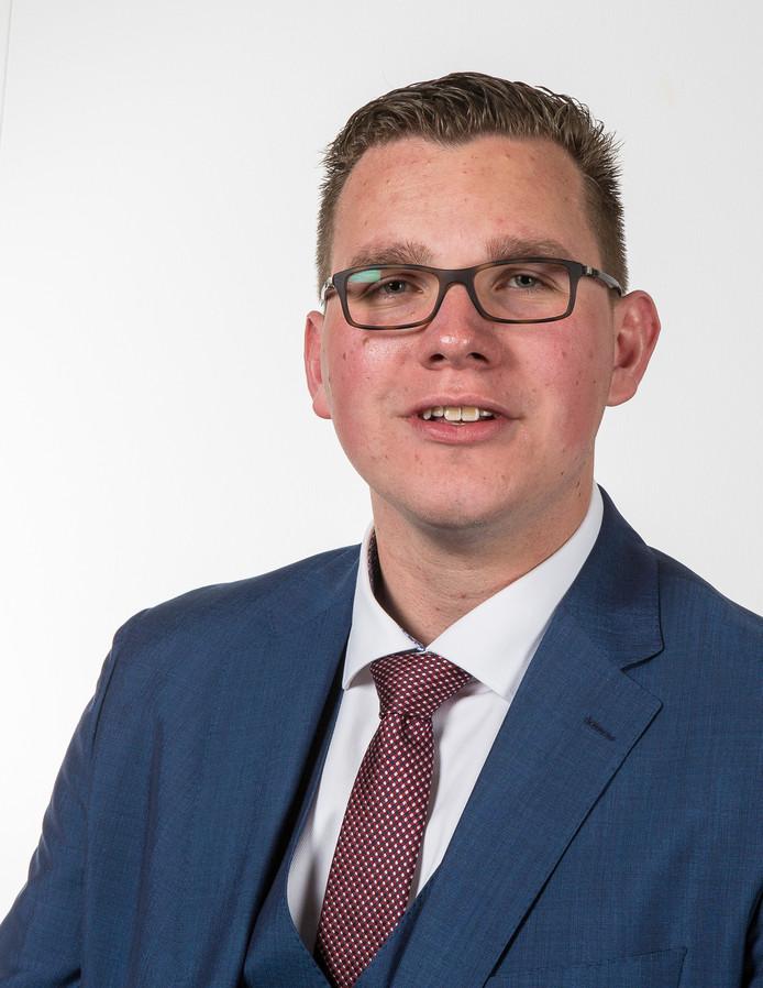 De Thoolse PVV-fractievoorzitter Vincent Bosch.