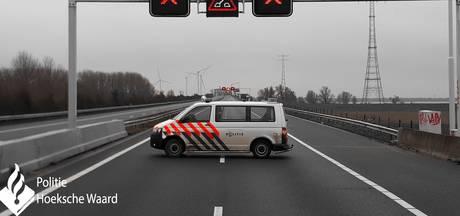 Politie waarschuwt: Haringvlietbrug is écht dicht