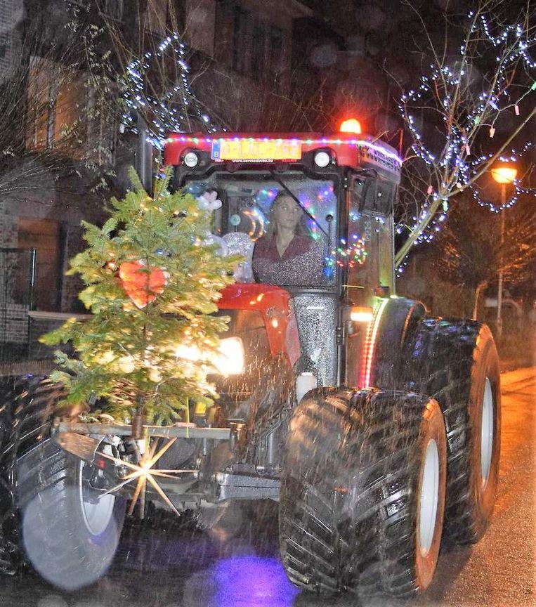 optocht tractoren