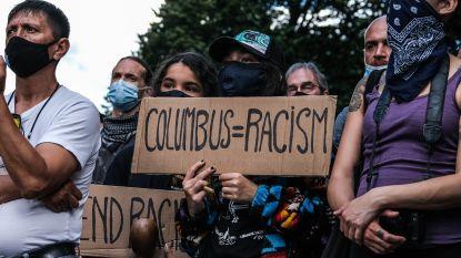 Standbeeld van Columbus neergehaald in Baltimore