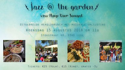 Jazz @ The Garden en Wereldbrunch