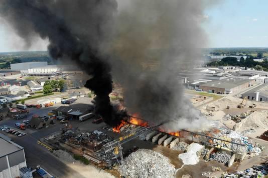 De grote brand bij Ter Horst.