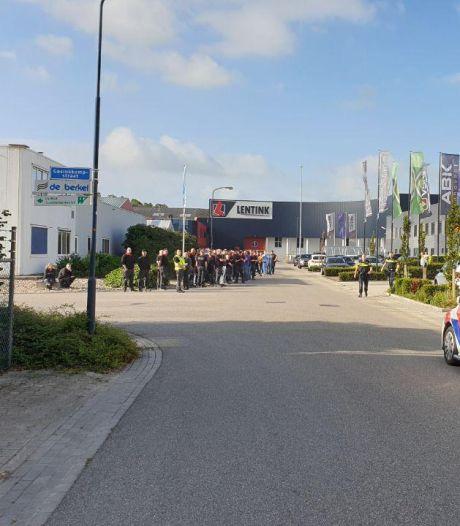 Brand in slijpmachine in Varsseveld: bedrijf tijdelijk ontruimd